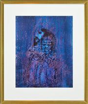Sale 8286 - Lot 564 - Sidney Nolan (1917 - 1992) - Study for Shakespeares Sonnet No. 142, 1963 62.5 x 51.5cm