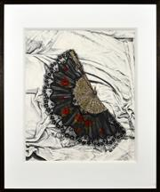 Sale 8316 - Lot 507 - Pamela Dale (1962 - ) - Spanish Fan, 1996 64 x 54cm
