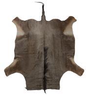 Sale 8431A - Lot 662E - Blue Wildebeest Rug, approx 208 x 140cm