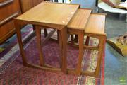 Sale 8528 - Lot 1094 - G-Plan Teak Nest of Tables