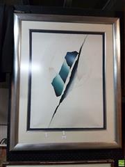Sale 8578T - Lot 2074 - Patrick Jannin Oms, De lautre cote du miroir, etching, 30/60, 85x60cm -