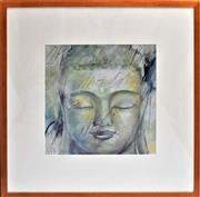 Sale 8778A - Lot 5054 - Elvira Amrhein - Meditation 88 x 88cm (frame)