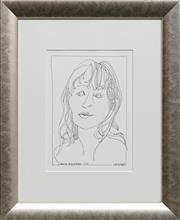 Sale 8789 - Lot 2015 - Charles Blackman (1928 - 2018) - Victoria 29.5 x 20cm