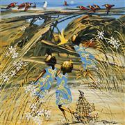 Sale 8867 - Lot 506 - Richard Bogusz (1947 - ) - The Chorus 37.5 x 37.5cm