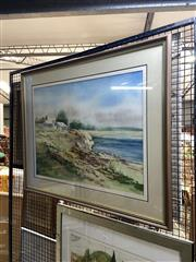 Sale 8878 - Lot 2055 - Beth Burges, South Coast, watercolour, 77 x 95.5cm, signed lower right