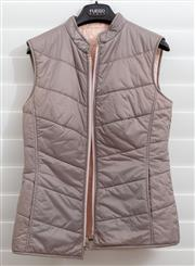Sale 8902H - Lot 159 - A grey thermal vest with central zip and pink interior, size S