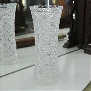 Sale 8336 - Lot 76 - Heavy Gauge Crystal Vase