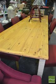 Sale 8412 - Lot 1078 - Large Rustic Table