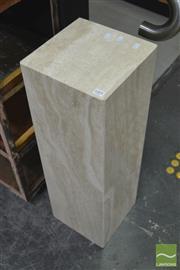 Sale 8431 - Lot 1001 - Marble Pedestal