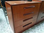Sale 8476 - Lot 1078 - G-Plan Teak Four Drawer Chest