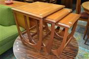 Sale 8528 - Lot 1023 - G-Plan Teak Nest of Tables