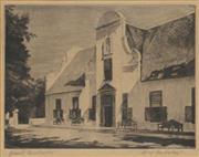 Sale 8738A - Lot 5084 - Hilda Pemberton (1880 - 1956) - Groot Constantia, Cape Town, South Africa (c1930) 17 x 21cm