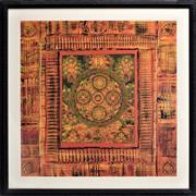 Sale 8778A - Lot 5055 - Frederick Candon - Mandala I 86.5 x 86.5cm (frame)