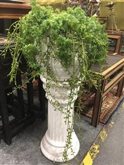 Sale 8822 - Lot 1795 - West German Jardiniere with Plant on Stand