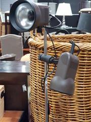 Sale 8826 - Lot 1065 - Twin Shade Floor Lamp