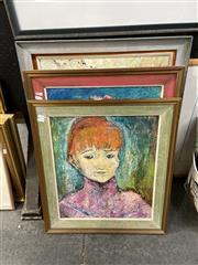 Sale 8888 - Lot 2063 - Group of (4) Paintings by K. McDonogh, framed various sizes