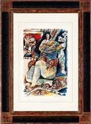 Sale 8938A - Lot 5003 - Theo Tobiasse (1927 - ) - Delires Et Desirs 57.5 x 38 cm (frame: 95.5 x 70 cm)