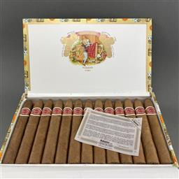 Sale 9142W - Lot 1047 - Romeo y Julieta Belicosos Cuban Cigars - box of 25, dated October 2019