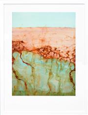 Sale 8286 - Lot 553 - John Olsen (1928 - ) - Lake Eyre - The Desert Sea 94 x 71cm