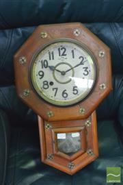 Sale 8390 - Lot 1208 - Japanese Wall Clock