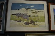 Sale 8453 - Lot 2035 - Frank McNamara (1916 - 1995) - Adelong Landscape, 1990 57 x 87cm