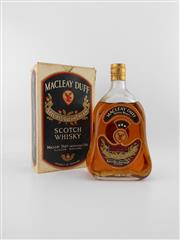 Sale 8498 - Lot 2024 - 1x Macleay Duff Distillers Special Liqueur Cream Scotch Whisky - very old bottling, some losses, in box