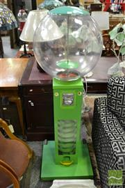 Sale 8489 - Lot 1016 - Tall Gumball Machine