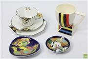 Sale 8626 - Lot 3 - Rosenthal Bjorn Winblad Ceramic Together With Japanese Cup And a Melba Trio