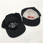 Sale 8893M - Lot 32 - Two Hats ACDC and Metallica
