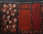 Sale 8938 - Lot 538 - David Rankin (1946 - ) - Golgotha and Jerusalem Wall, 1992 122 x 167 cm