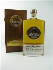 Sale 8329 - Lot 554 - 1x Lark Distillery Bill Lark Hall of Fame Limited Release Small Cask Bourbon Barrel Aged Single Malt Tasmanian Whisky - to celebra...