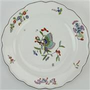 Sale 8399 - Lot 78 - Meissen 18th Century Butterfly Plate