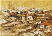 Sale 8738A - Lot 5082 - Ahuva Sherman (1926 - ) - Jerusalem 60 x 81cm