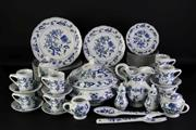 Sale 8972 - Lot 18 - A Blue and White Danube (Japan) Part Dinner Setting