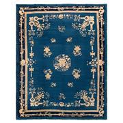 Sale 8971C - Lot 2 - Antique Chinese Peking Rug, Circa 1920, 270x345cm, Handspun Wool