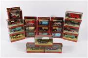 Sale 9003 - Lot 18 - Collection of Matchbox models of yesteryear automotive(20) incl. Kemps Biscuit truck