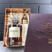 Sale 9017W - Lot 3 - Hibiki 12YO Blended Japanese Whisky - 43% ABV, 700ml in gift box with 50ml taster