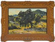 Sale 8316 - Lot 577 - Auguste Louie Roure (1878 - 1936) - French Landscape 36 x 53cm