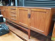 Sale 8421 - Lot 1080 - G-Plan Fresco Teak Sideboard