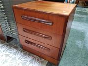Sale 8476 - Lot 1083 - G-Plan Teak Three Drawer Chest