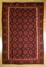Sale 8693C - Lot 36 - Afgahn Kilim 300cm x 202cm