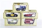 Sale 8960T - Lot 6 - A Set Of Five Matchbox Models of Yesteryear Toy Cars Incl Bugatti