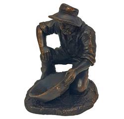 Sale 9093A - Lot 5073 - Anna & George Holan - Prospector h. 8 cm