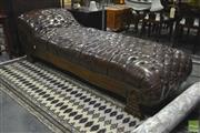 Sale 8284 - Lot 1015 - Buttoned Chaise