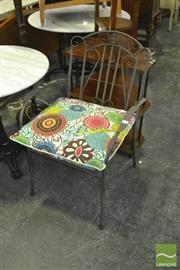 Sale 8383 - Lot 1330 - Pair of Outdoor Chairs