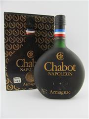 Sale 8439 - Lot 711 - 1x Chabot Napoleon Armagnac - old bottling, in box