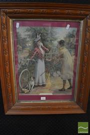 Sale 8487 - Lot 2095 - 1901 Pears Print