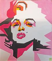 Sale 8604 - Lot 2092 - Artist Unknown - Marilyn Monroe, acrylic on canvas, 119 x 100cm, unsigned