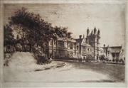 Sale 8738A - Lot 5075 - Ernest Warner (1879 - 1968) - Sydney University, 1923 25.5 x 40cm