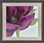 Sale 8778A - Lot 5059 - Linda Wood - Grandiflors 96.5 x 96.5cm (frame)